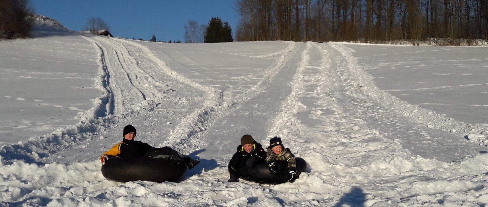 Winterurlaub am Bauernhof Bayerischer Wald für Familien