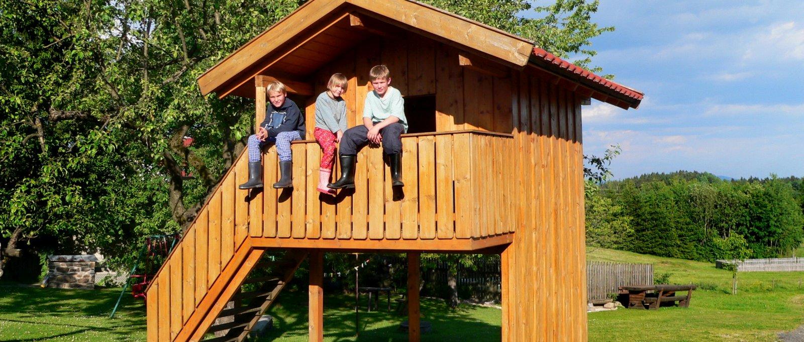 Kinderfreundlicher Bauernhof im Bayerischen Wald